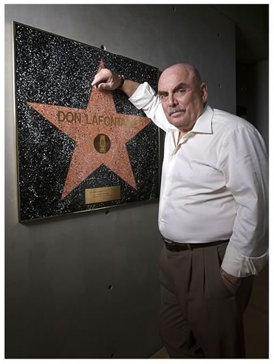 Don LaFontaine Hollywood Star