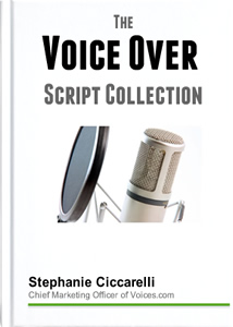 Voice Over Scripts - Commercial, Narration and Animation