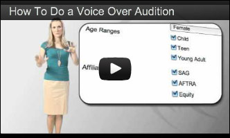 How To Do a Voice-Over Audition