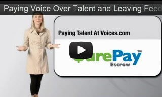 How To Pay a Voice Talent For Voice Over Work