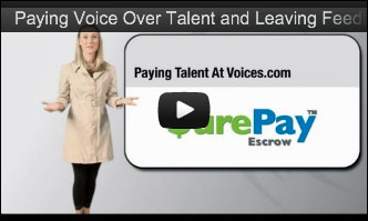 How To Pay a Voice Talent
