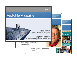 AudioFile Magazine Webinar