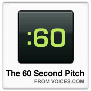 60 Second Pitch Contest