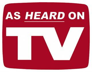 As Heard On TV, voice artist t-shirt