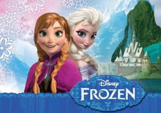 Frozen animated film