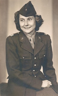 Maman in uniform, Liz de Nesnera's mother