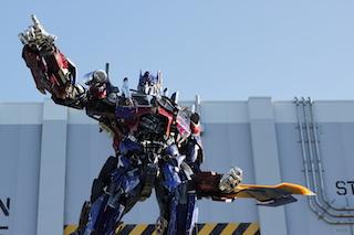 Optimus Prime in Universal Studios Florida
