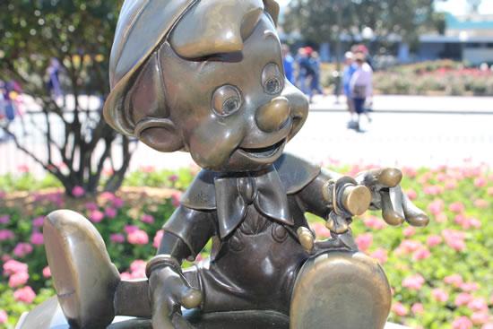 Pinocchio at Walt Disney World