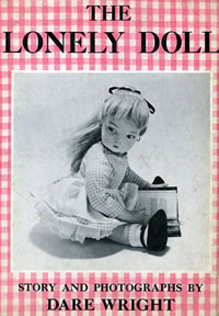 The Lonely Doll by Dare Wright, book cover