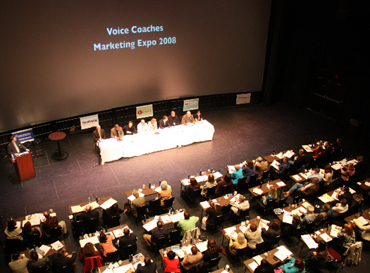 Voice Coaches Marketing Expo 2008 Expert Panel