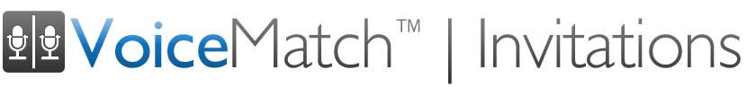 VoiceMatch Invitations