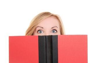 Woman Peering Over Book.jpg