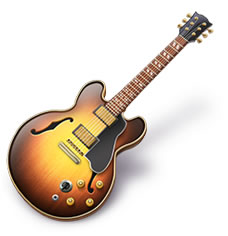 Apple Garageband guitar icon
