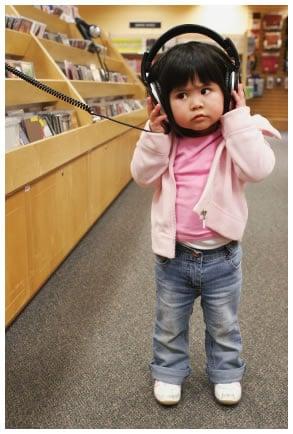 Asian child earphones