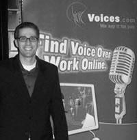 Ben Jackson Voices.com Mixer