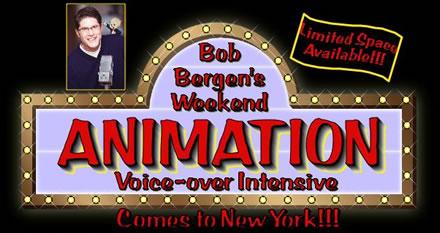 Bob Bergen NYC Animation Workshop