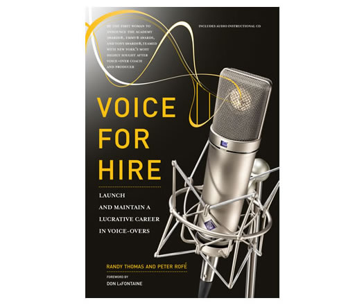 Voice For Hire Book