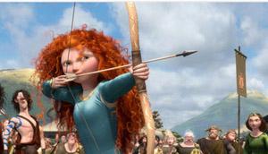 Brave character Merida