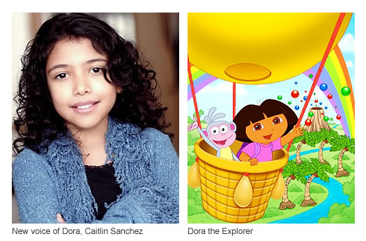 Caitlin Sanchez voice of Dora the Explorer