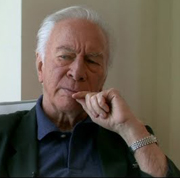 Christopher Plummer pictured in an interview conducted by Stratford Shakespeare Festival concerning the works of Shakespeare as