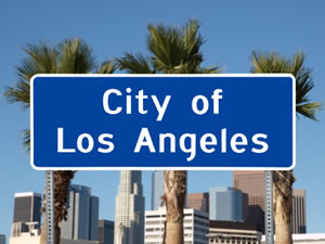 City of Los Angeles sign