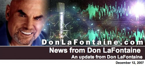 Don LaFontaine News