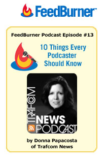 Donna Papacosta FeedBurner Podcast