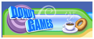 Donut Games logo