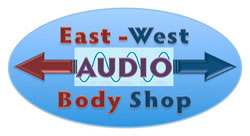 East-West Audio Body Shop Logo