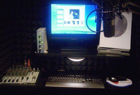 Miraculous Bobbin Beam Home Studio Audio Recording Equipment Voices Com Largest Home Design Picture Inspirations Pitcheantrous