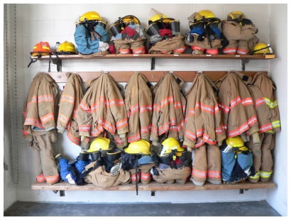 Fireman gear and clothing
