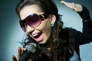 Fun female recording artist