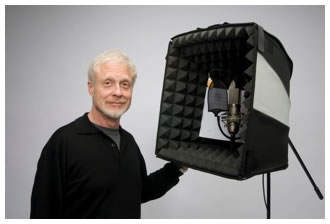 Harlan Hogan with his Porta-Booth Pro