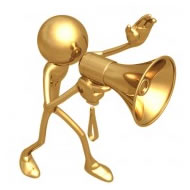 Herb Merriweather's golden guy vocal mascot