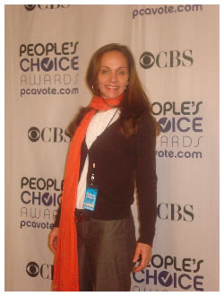 Hillary Huber at the People's Choice Awards 2009