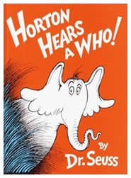 Horton Hears a Who Book Cover