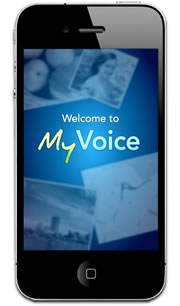 iPhone 3 MyVoice App