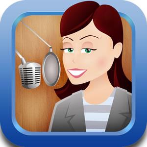 Voices.com iPhone app icon