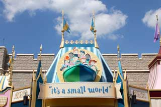 It's a Small World After All ride at Disney World