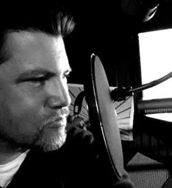 Jim Tasker, voice artist, voicing the in game billboards for Super Bowl 47