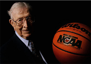 John Wooden UCLA basketball coach NCAA