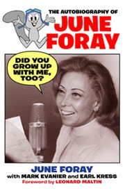 June Foray Book Did you grow up with me too?