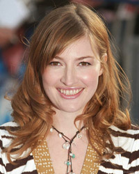 Kelly Macdonald, Scottish voice actress starring in the role of Merida in the Pixar animated film, Brave.