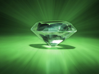 Kryptonite, green crystal