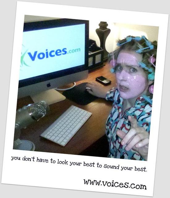Lisa Biggs Voices.com photo contest