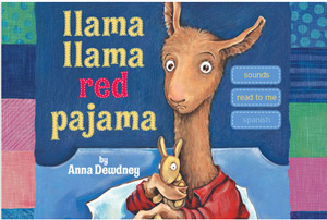 Llama Llama Red Pajama app narrated by Rosemary Watson