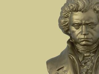 Ludwig van Beethoven bust