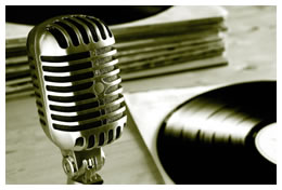 Microphone and Records