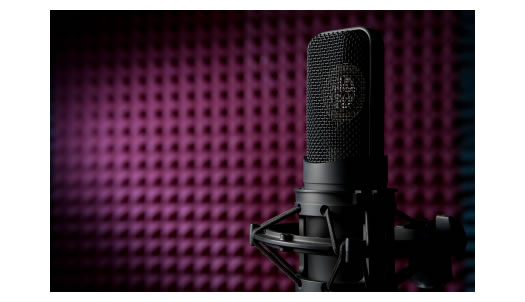 Microphone Whisper Room Purple