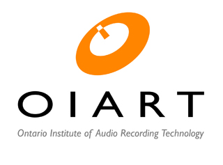 OIART logo Ontario Institute of Audio Recording Technology